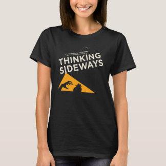 T-shirt 2016 latéral de pensée de logo du Podcast