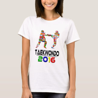 T-shirt 2016 : Le Taekwondo