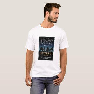 T-shirt 2017 éclipse solaire totale - Rexburg,