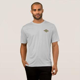 T-shirt 2017 gris de logement de falaise de