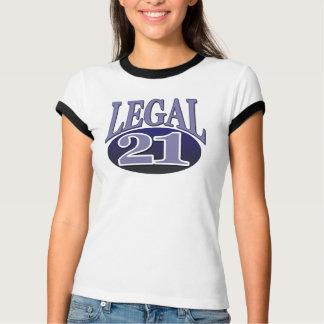 T-shirt 21 et anniversaire juridique