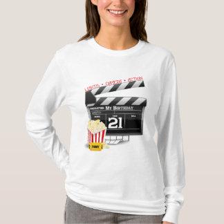 T-shirt 21ème Partie de film d'anniversaire