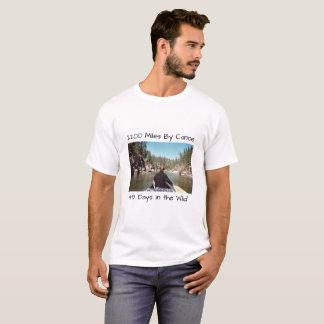 T-shirt 2200 milles en le canoë, 49 jours dans le sauvage