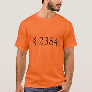 T-shirt § 2384 de 18 USC - conspiration séditieuse