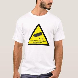 T-shirt 24/7 surveillance