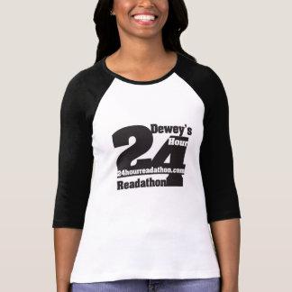 T-shirt 24 chemises de Readathon de l'heure de Dewey