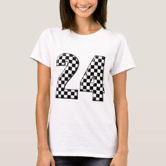 T-shirt 24 nombres de drapeau de contrôleurs