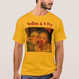 T-shirt 24 novembre, AmBam et friture de K