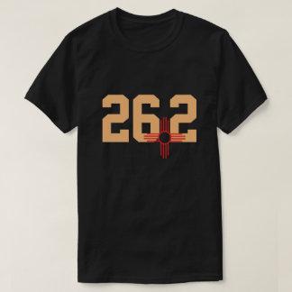 T-shirt 26,2 Chemise de Zia de coureur