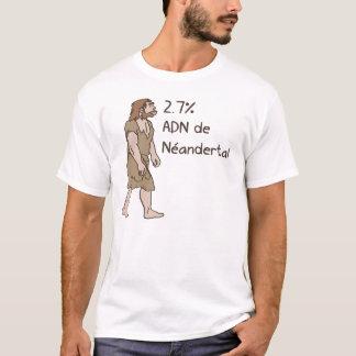 T-shirt 2,7% Français de Néanderthal