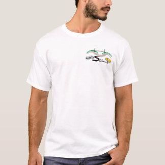T-shirt 2 a dégrossi la vallée du Hudson courue/club