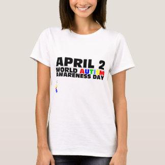 T-shirt 2 avril, jour de sensibilisation sur l'autisme du