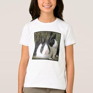 T-shirt 2 lapins néerlandais