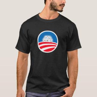 T-shirt 2 ont dégrossi membre fier de foule de Pro-Obama