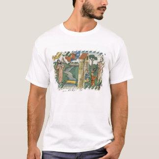 T-shirt 2 rois 2 1-24 Élijah monte au ciel dans un