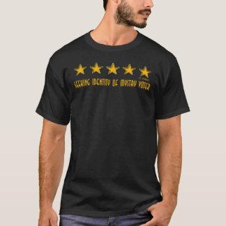 T-shirt 2 votes cinq étoiles
