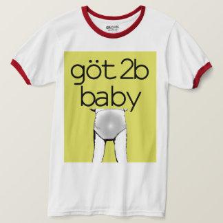 T-shirt 2b bon à rien obtenu du bébé | Baby4Life | ABDL |