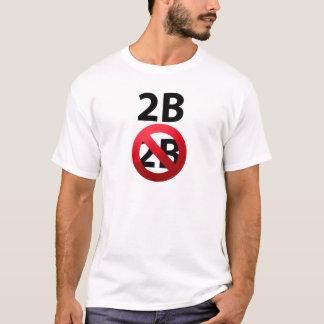 T-shirt 2b ou pas Tshirt.pn morbide de 2B Shakespeare