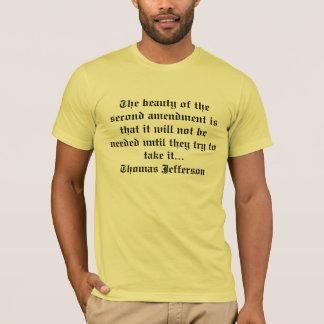 T-shirt 2ème Amendement À