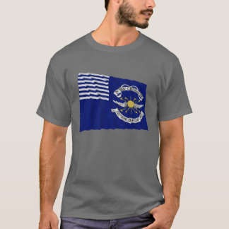 T-shirt 2ème Lt Dragoons Waving Flag de régiment