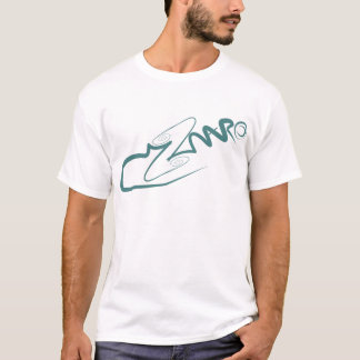T-shirt 2maro marque espérant un plus vert, décapant