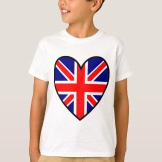 T-shirt 2unionjackheart