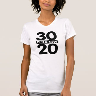 T-shirt 30 est les nouveaux 20