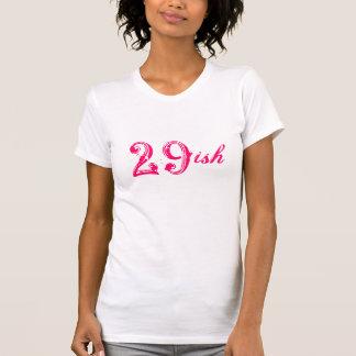T-shirt 30ème anniversaire 29ish drôle tournant 30 années