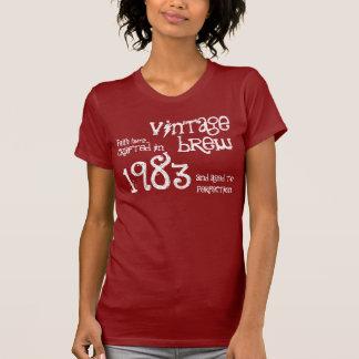 T-shirt 30ème Cadeau d'anniversaire cru S03 de 1983 ou