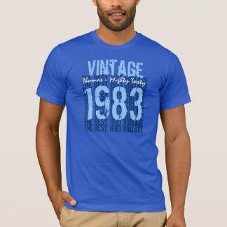 T-shirt 30ème Cru de cadeau d'anniversaire 1983 ou toutes