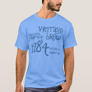 T-shirt 30ème Denim vintage de bleu de Brew du cadeau