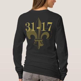 T-shirt 31-17 qui Dat ! La fille de 2010 CHAMPIONS