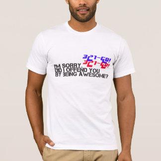 T-shirt 321go je vous ai offensés chemise de WOD