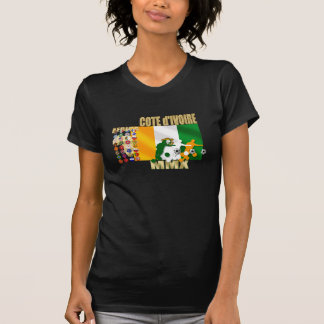 T-shirt 32 cadeaux de d'Ivoire de Cote de la Côte d'Ivoire