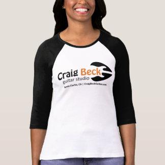 T-shirt 3/4 studio de guitare de la pièce en t | Craig