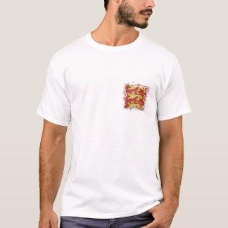 T-shirt 3 lions avec l'effet déchiré