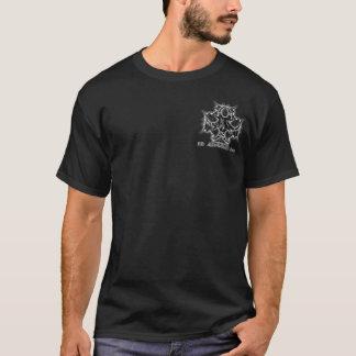 T-shirt 3D blanc de logo d'Artwork, Inc.