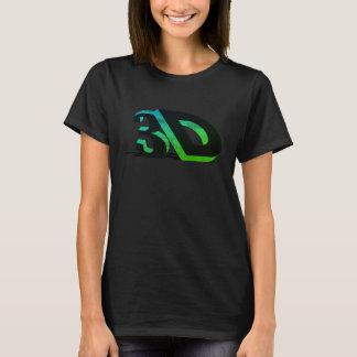 T-shirt 3D - Destiné et déterminé dynamiques