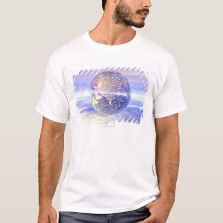 T-shirt 3D globe 13