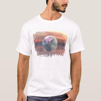 T-shirt 3D globe 5