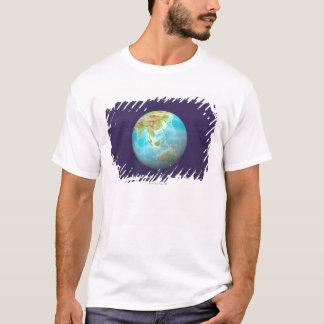 T-shirt 3D globe 6