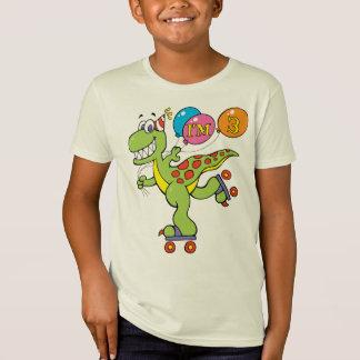 T-Shirt 3ème Dinosaure d'anniversaire
