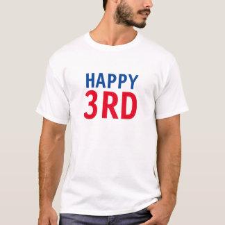 T-shirt 3ème heureux