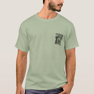 T-shirt 3ème L'avenue a obtenu la boue ? Chemise