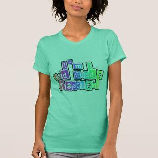T-shirt 3ème professeur de catégorie de couleurs