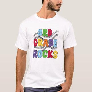 T-shirt 3èmes roches multicolores de catégorie