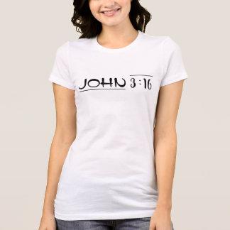 T-shirt 3h16 de John - racheté par l'amour