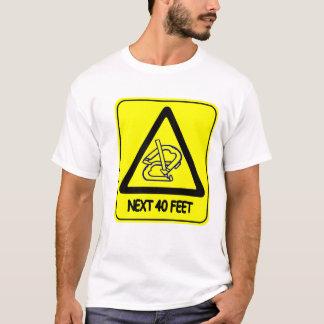 T-shirt 40' de base pièce en t de fers à cheval
