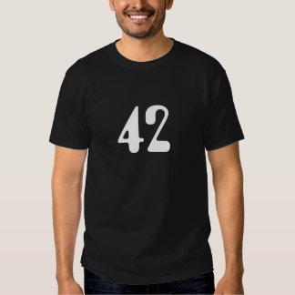 T-shirt 42 noir