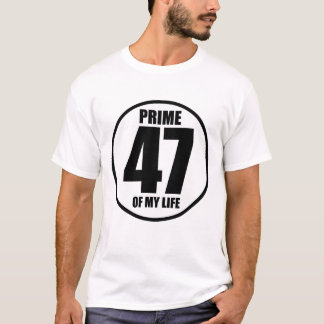 T-shirt 47 - perfection de ma vie